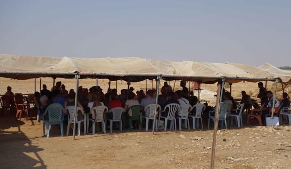 Exkursion mit dem ICCG Kongress zu Beduinen im Jordantal