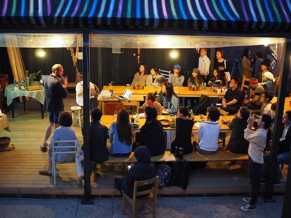 Austauschabend mit Prinzessinnengarten / Nachbarschaftsakademien und lokalen Initiativen im Bibil-Giji